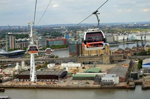 Emirates Greenwich Peninsula Station, London, UK