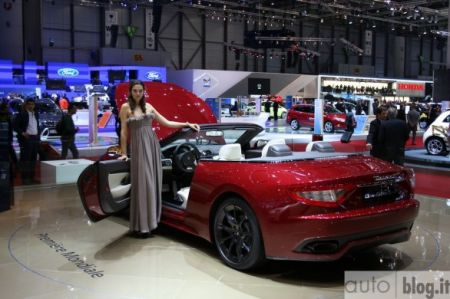 Celebrity Motorcycle 2012 Maserati Grancabrio Sport Overview