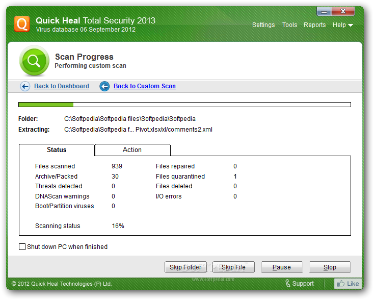 Quick Heal Total Security 2013 FREE DOWNLOAD With PRODUCT KEY License