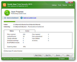 FREE QUICKHEAL TOTAL SECURITY 2013 WITH 4 MONTH