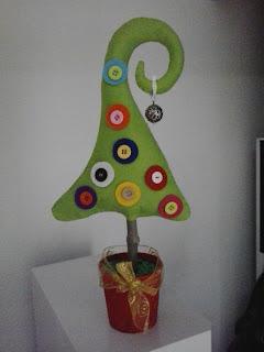 Manualidades para regalar, árbol de navidad