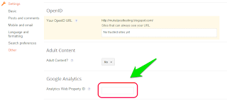 How to Add Google Analytics to Blogger 6