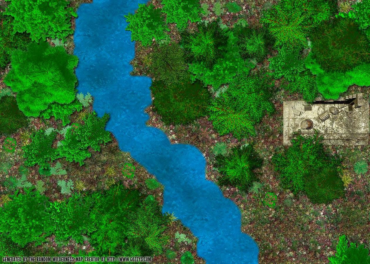 Free GM Resource: Gozzy's  Wilderness Map Generators