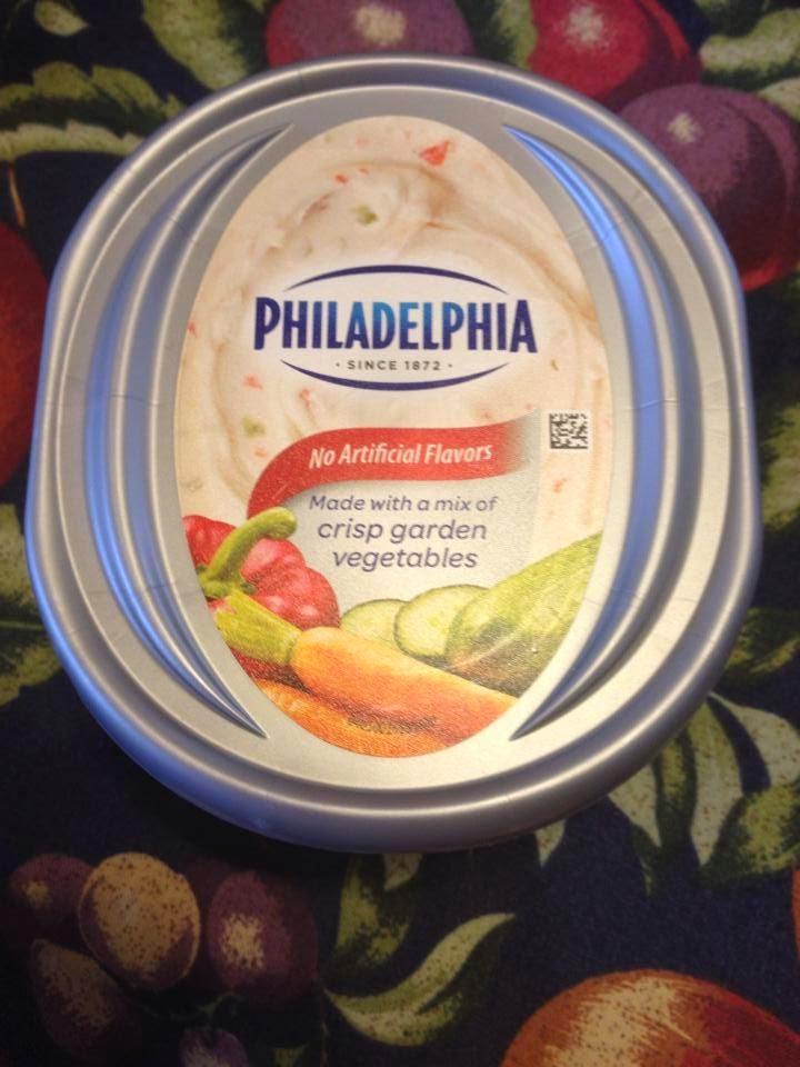 Chicago Foodie Sisters Philadelphia Cream Cheese With Crisp Garden Vegetables