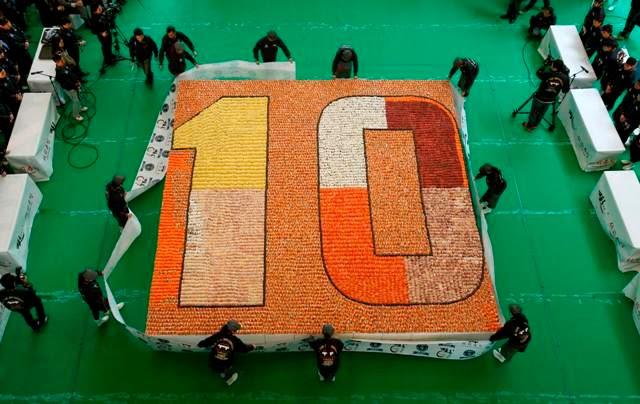 20,647 Sushi Cipta Guinness World Records di Hong Kong