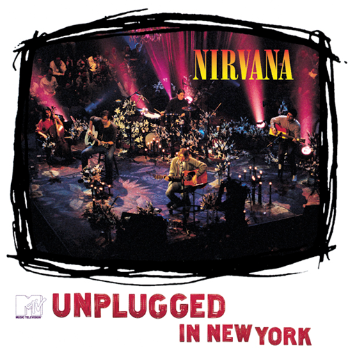 Rock Album Artwork: Nirvana - MTV Unplugged in New York