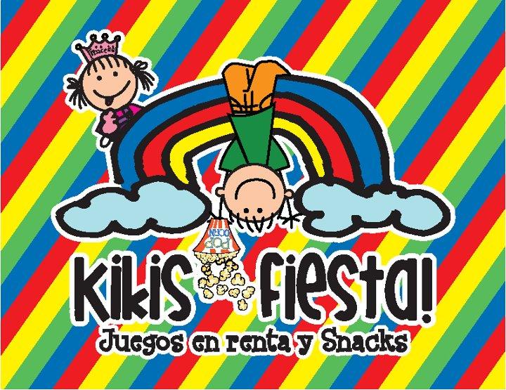 Kikis Fiesta! Decoración con Globos, Snacks y juegos en renta