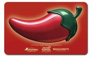 Chili's giveaway
