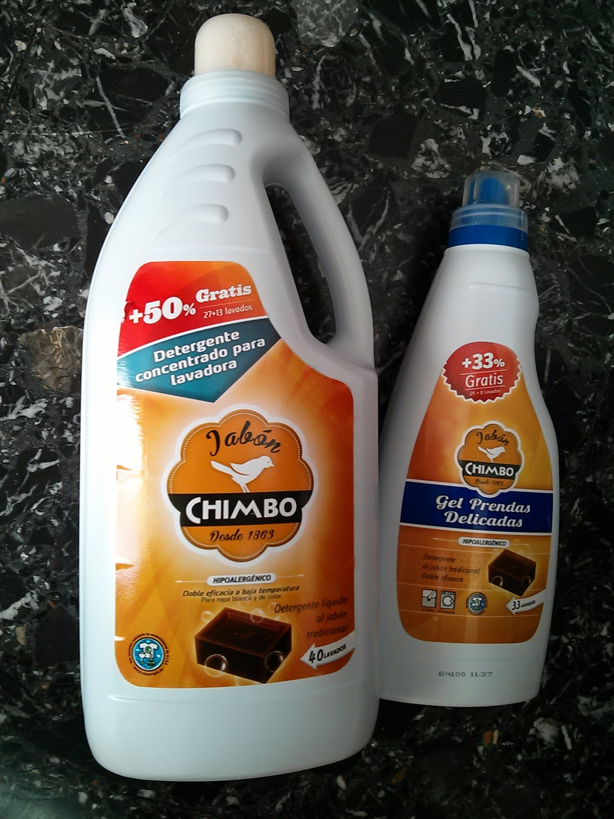 Jabon chimbo lavadora