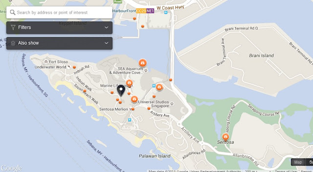 Sentosa Boardwalk Singapore Map,Map of Sentosa Boardwalk Singapore,Tourist Attractions in Singapore,Things to do in Singapore,Sentosa Boardwalk Singapore accommodation destinations attractions hotels map reviews photos pictures