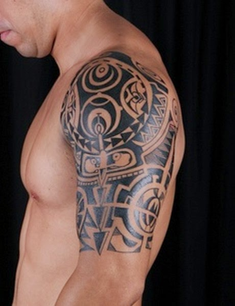 Amazing Polynesian Tattoos for Man