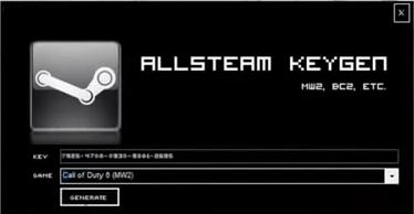 steam game keygen