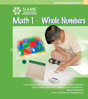 NAMC montessori elementary math curriculum tips multiplication difficulties math 1 manual