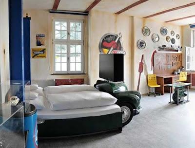 dormitorio de carros