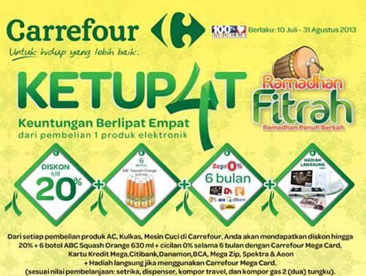 Katalog Promo Terbaru Carrefour (Edisi Ketupat – Electronik) Periode 10 Juli – 31 Agustus 2013