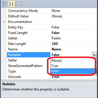 """How to Fix the Entity Framework error """"Problem in mapping fragments""""  3"""