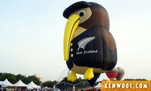 putrajaya hot air balloon iwi the kiwi