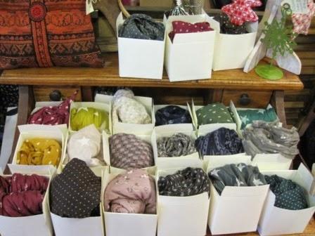 Fular seda y algodon caja regalo