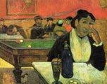 Paul Gauguin (40 años) - En el Café (Madame Ginoux) (1888)