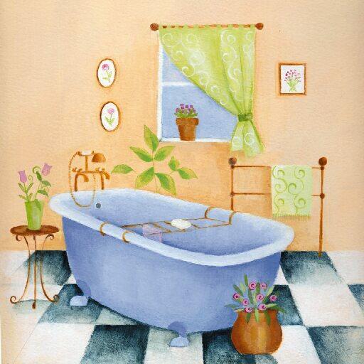 Laminas Baño Vintage:Yo os dejo alguna de los dibujos que he recopilado por internet: