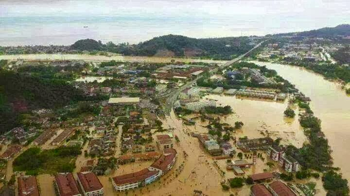 Bilik Gerakan Banjir Di Terengganu