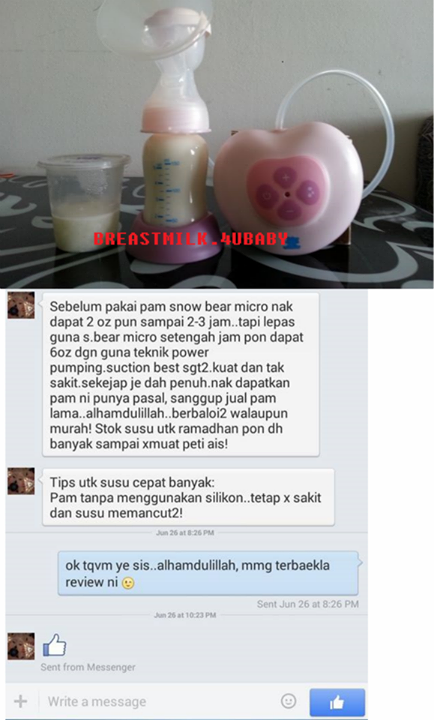 review malish ilaria eve love sassy snowbear micro pink spectra medela breastpump