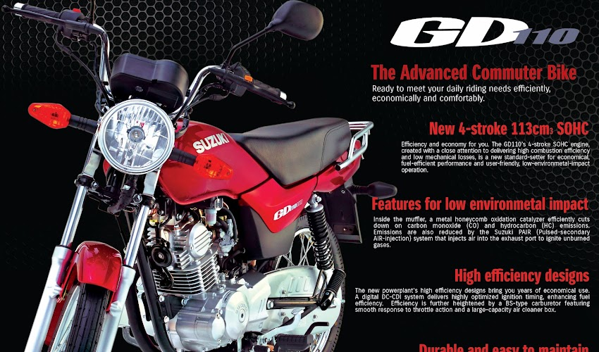 Suzuki GD110 Motorcycle