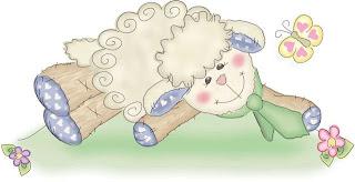 Imagens para decoupage de Ovelhas