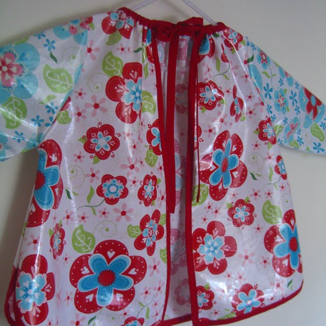 Art Smock Pattern Kids Free