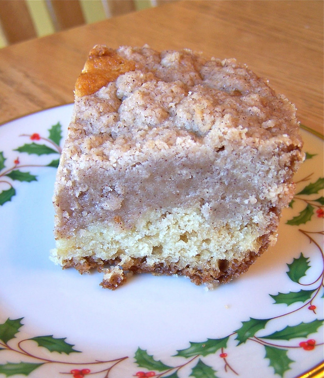 Heather's Recipes: Classic Crumb Cake