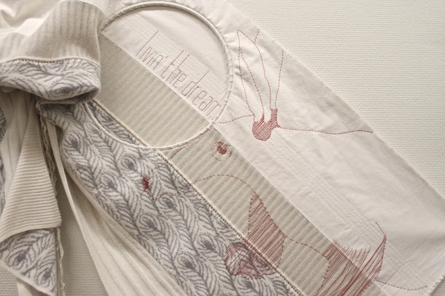 Stephanie Wooster, embroidery