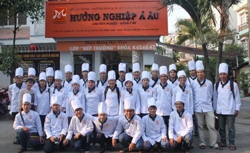 trường dạy nghề đầu bếp - daynauan123.com