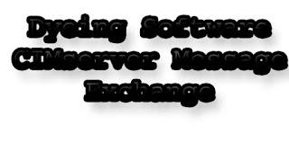 Dyeing Software CIMserver Message Exchange