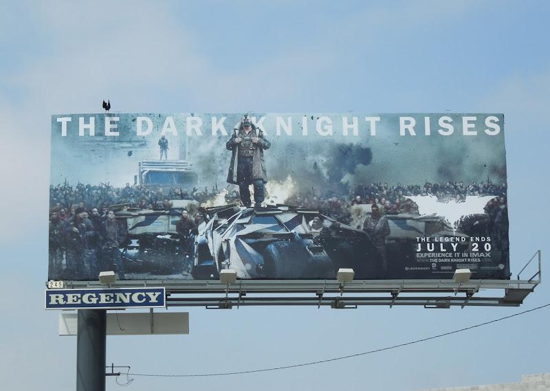 Dark Knight Rises Bane billboard