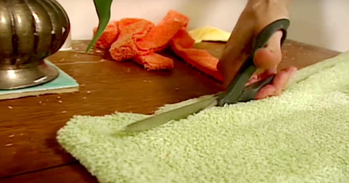 how to make hot towels at home
