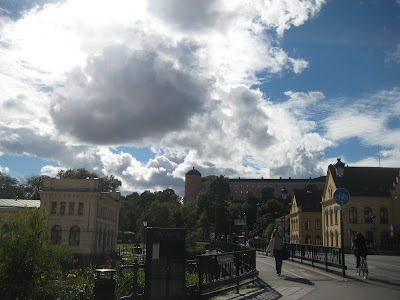 Clouds in Uppsala Castle