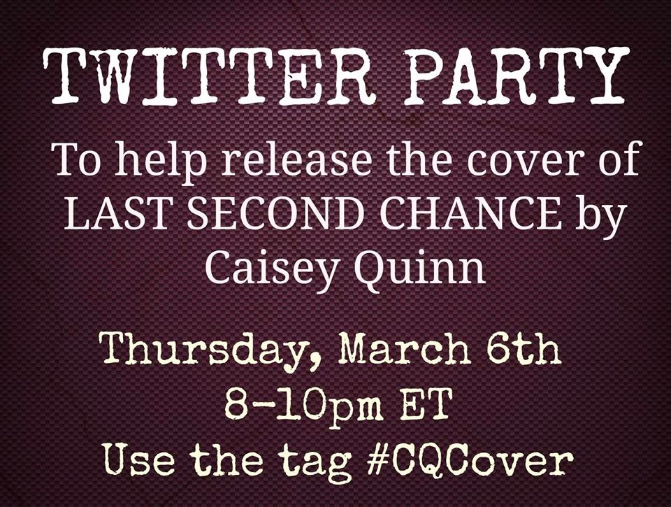 Trailer & Excerpt Reveal: Last Second Chance by Caisey Quinn + Giveaway!