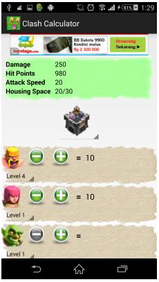 Cara Menggunakan Calculator for Clash