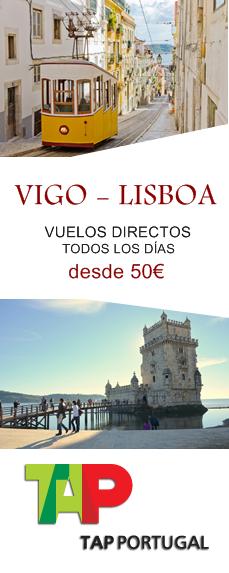 Vuelos directos entre Vigo y Lisboa con TAP