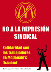 Readmisin ya de Jorge Garca y Alejandro Garca No a la represin sindical!
