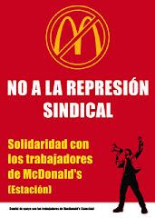 Readmisión ya de Jorge García y Alejandro García ¡No a la represión sindical!