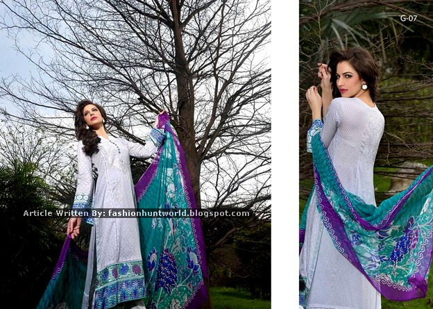Gohar Lawn Collection 2015-2016 - 01