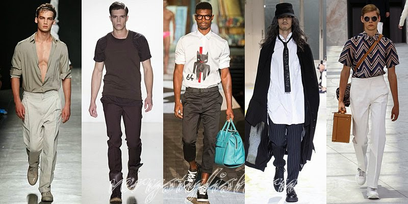 Spring Summer 2015 Men's Shirts And T-Shirts Fashion Trends