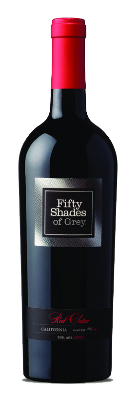 Idées cadeaux St-Valentin Vin Fifty Shades of Grey