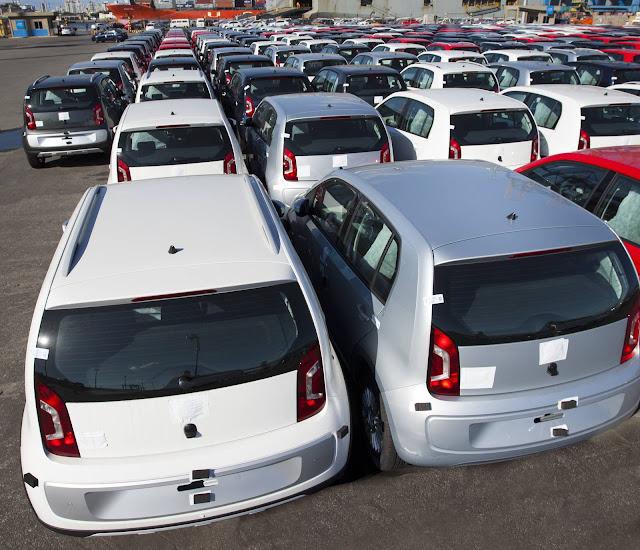 Volkswagen Up! - Exportações