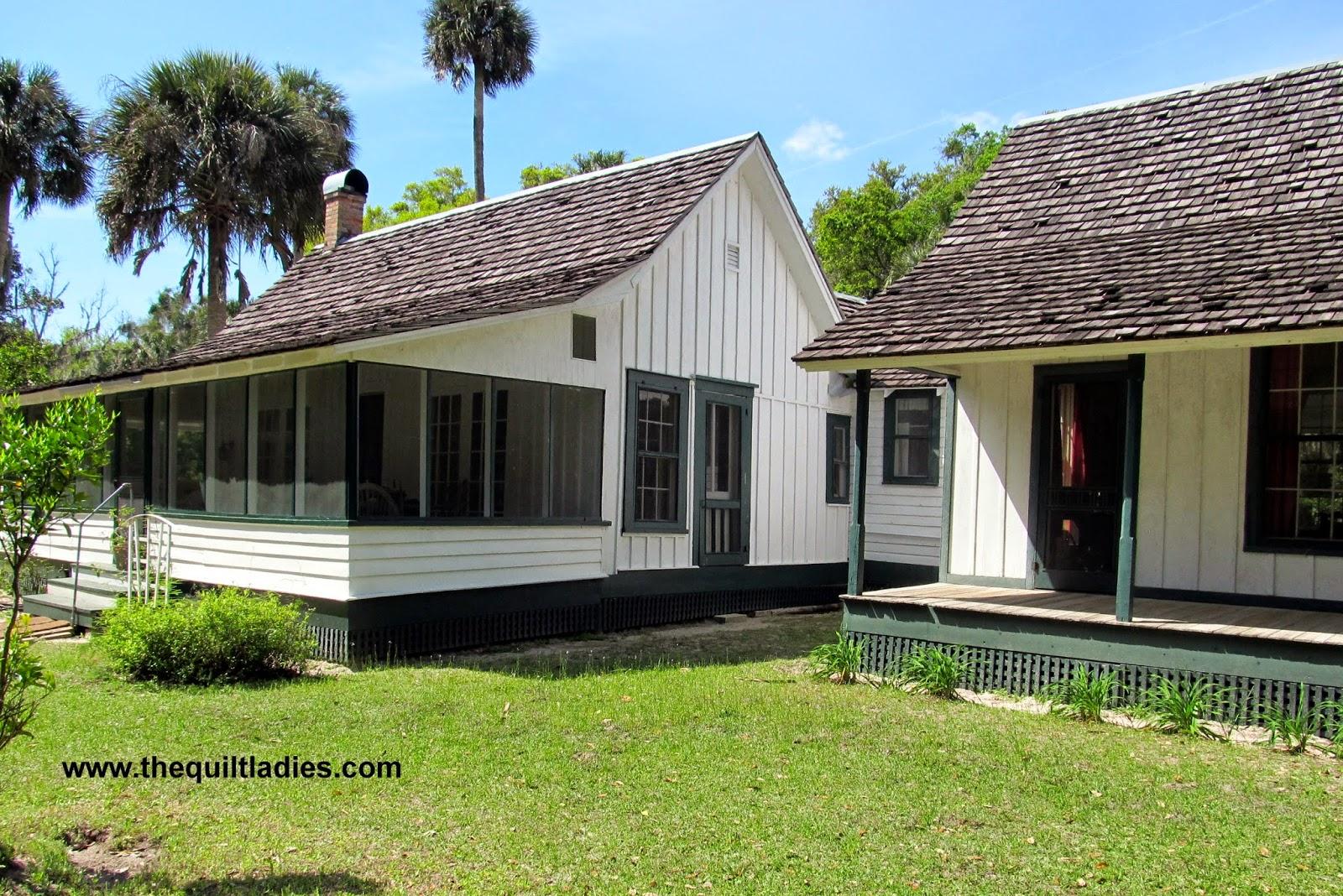 visiting Marjorie Kinnan Rawling home