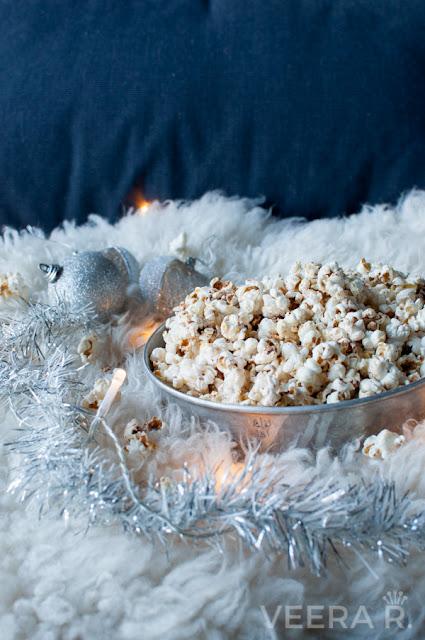 Jouluinen popcorn
