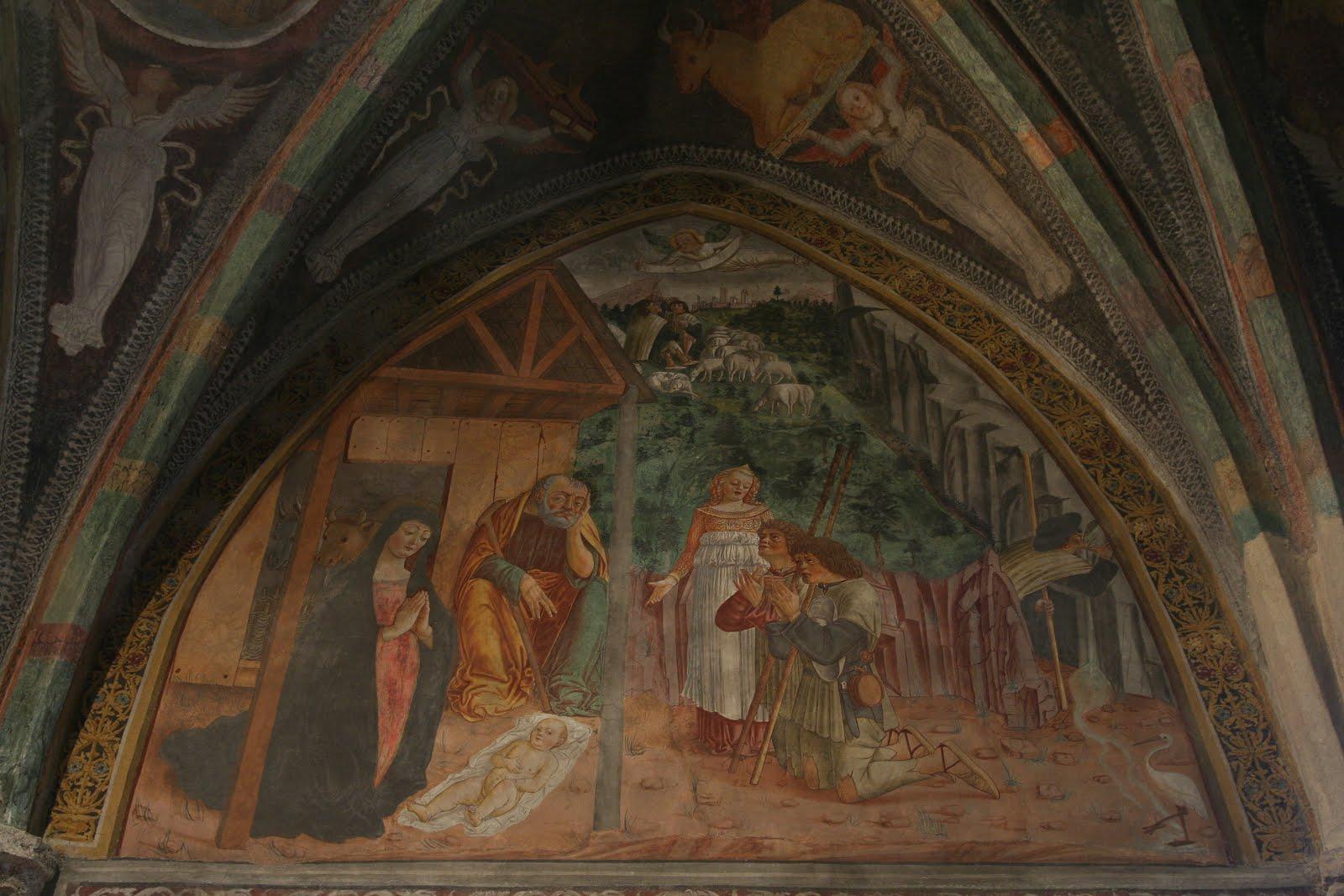 Gianfrancesco di Tolmezzo - affresco chiesa di San Nicolò di Comelico