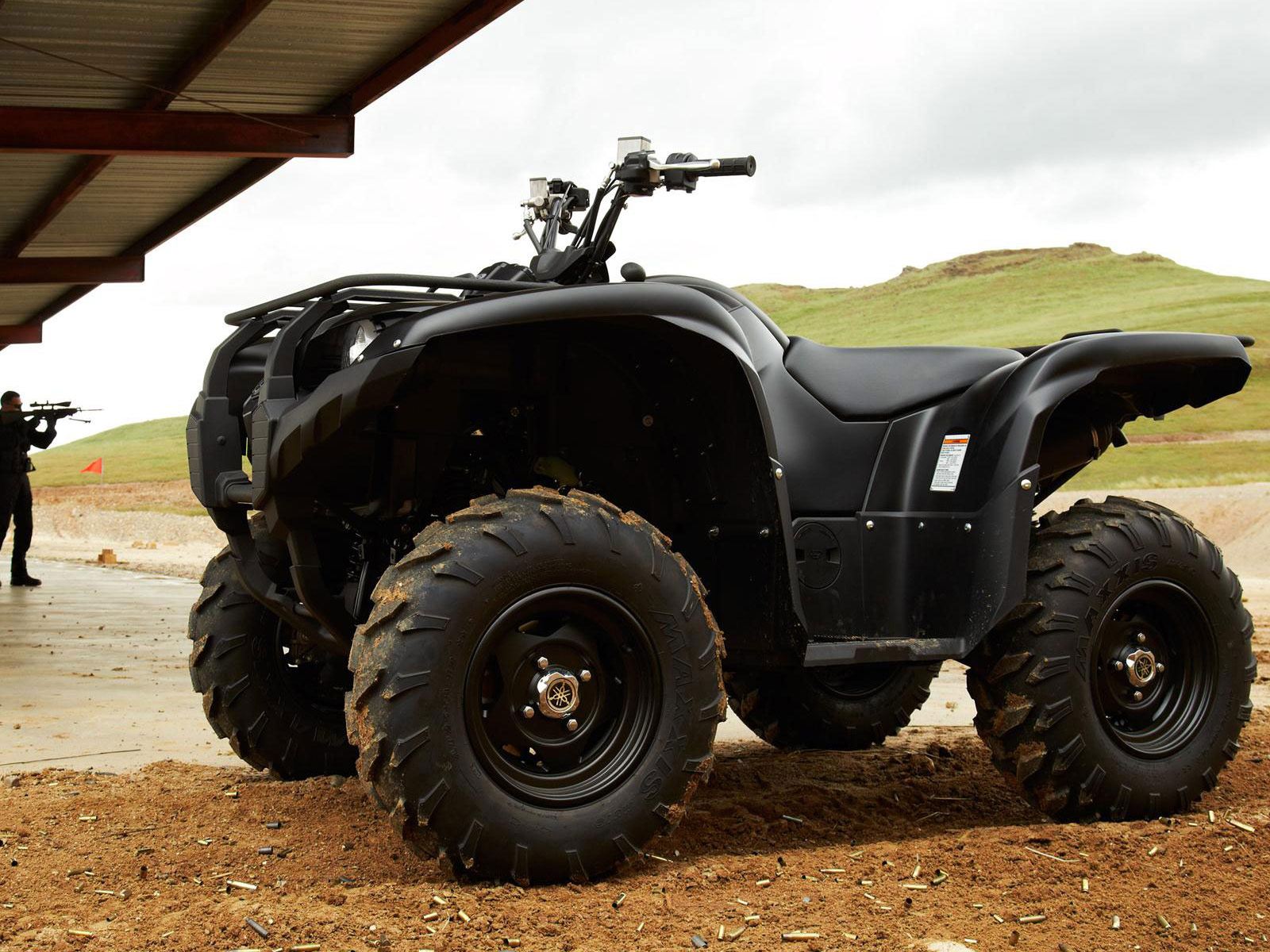 2013 yamaha grizzly 700 fi auto 4x4 eps se review photos for Yamaha grizzly 4x4