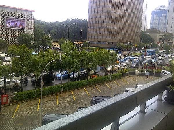 Kebakaran Wisma Kosgoro di Jalan Muhammad Husni Thamrin